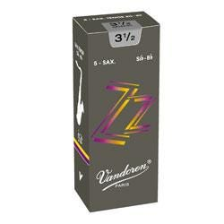 Image for ZZ Series Baritone Sax Reeds (Box of 5) (Assorted Strengths) from SamAsh