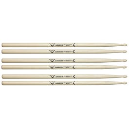 Image for Classics 5A Wood Tip Drumsticks 3-Pack from SamAsh