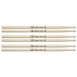 Image for Classics 5B Wood Tip Drumsticks 3-Pack from SamAsh