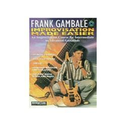 Image for Frank Gambale Improvisation Made Easier with 2 CDs from SamAsh