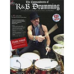 Image for Comandments of R&B Drumming Book & CD from SamAsh