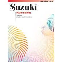 Alfred Suzuki Piano School New International Edition Piano Book, Volume 4