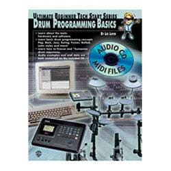 Image for Drum Programming Basics (Book and Enhanced CD) from SamAsh