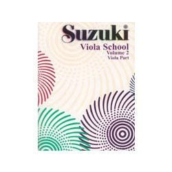 Image for Suzuki Viola School Viola Part Volume 2 from SamAsh