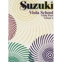 Image for Suzuki Viola School Viola Part Volume 4 from SamAsh