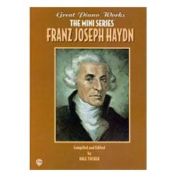 Image for Great Piano Works - The Mini Series: Franz Joseph Haydn  Book from SamAsh