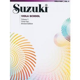 Alfred Suzuki Viola School, Volume 5 -International Edition-Revised