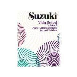 Image for Suzuki Viola School Volume 5 (Piano Accompaniment) from SamAsh