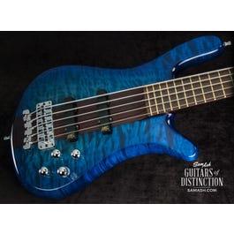 Image for Custom Shop Streamer Stage I 5-String Bass Guitar Bleached Blueburst from SamAsh