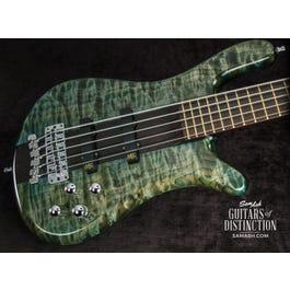 Image for Custom Shop Streamer Stage I 5-String Bass Guitar Tropical Green Transparent from SamAsh