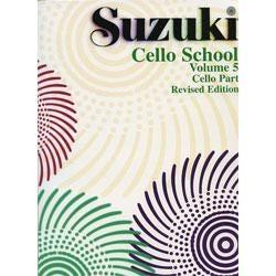 Image for Suzuki Cello School Volume 5 (Cello Part) from SamAsh