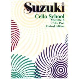 Image for Suzuki Cello School Volume 6 (Cello Part) from SamAsh
