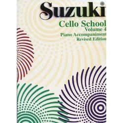 Image for Suzuki Cello School Piano Acc.