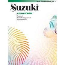 Alfred Suzuki Cello School Piano Acc., Volume 6 (Revised)
