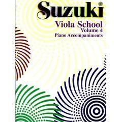 Image for Suzuki Viola School Volume 4 (Piano Accompaniment) from SamAsh