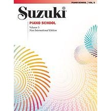 Image for Suzuki Piano School New International Edition Piano Book, Volume 5 from SamAsh
