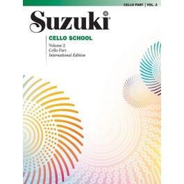 Alfred Suzuki Cello School Volume 2 (Cello Part)-International Edition