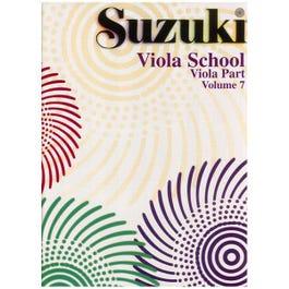 Image for Suzuki Viola School Viola Part Volume 7 from SamAsh