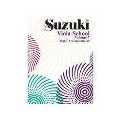 Image for Suzuki Viola School Piano Accompaniment Vol. 7 from SamAsh