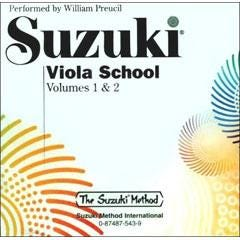 Image for Suzuki Viola School Volume 1 and 2 (CD) from SamAsh