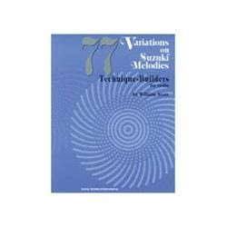 Image for 77 Variations on Suzuki Melodies: Technique Builders for Violin from SamAsh