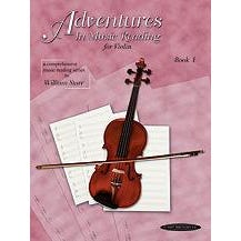 Alfred Adventures in Music Reading Book 1 Violin