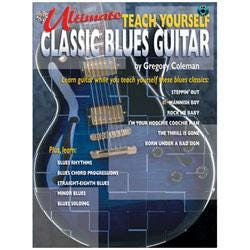 Image for Teach Yourself Blues Guitar Book & CD from SamAsh