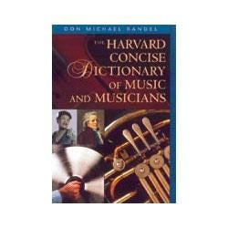 Image for Harvard Concise Dictionary of Music and Musicians from SamAsh