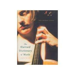 Image for The New Harvard Dictionary of Music (4th Edition) from SamAsh