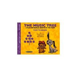 Image for The Music Tree Student Book Time to Begin (Piano) from SamAsh