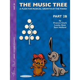 Alfred The Music Tree Student Book Part 2B (Piano)