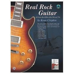 Image for Real Rock Guitar Book & CD from SamAsh