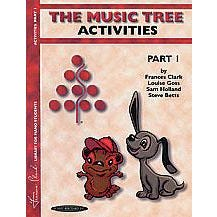 Alfred Clark -The Music Tree Activities Book Part 1 (Piano)