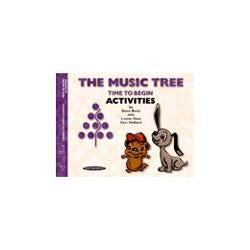 Image for The Music Tree: Time To Begin Piano Activities Book from SamAsh