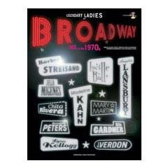 Image for Legendary Ladies of Broadway: 1960s and 1970s (Book & CD) from SamAsh