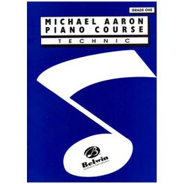 Image for Michael Aaron Piano Course Technic Grade 1 from SamAsh