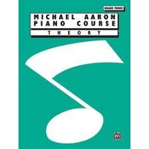 Alfred Michael Aaron Piano Course Theory Grade 3