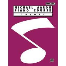 Alfred Michael Aaron Piano Course Theory Grade 4