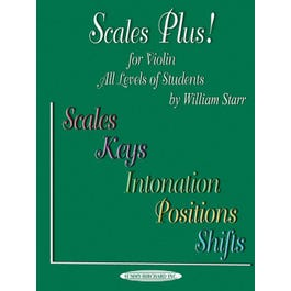 Alfred Scales Plus! for Violin