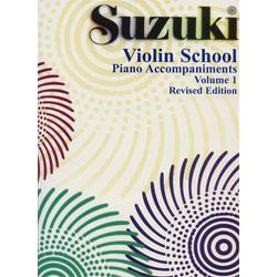Image for Suzuki Violin School Piano Accompaniment Volume 1 from SamAsh
