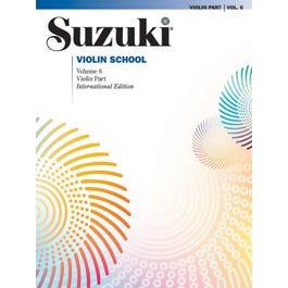 Alfred Suzuki Violin School, Volume 6-International Edition