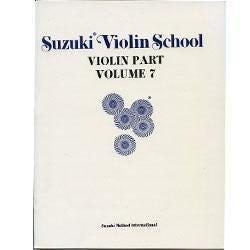 Image for Suzuki Violin School Volume 7 (Violin Part) from SamAsh