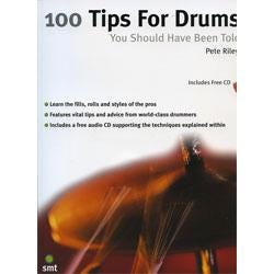 Image for 100 Tips for Drums You Should Have Been Told Book & CD from SamAsh
