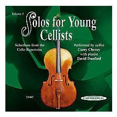 Image for Solos for Young Cellists CD Volume 5 (CD) from SamAsh
