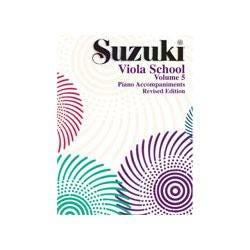 Image for Suzuki Viola School Piano Accompaniment Volume 5 (Revised) from SamAsh