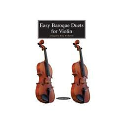 Image for Easy Baroque Duets for Violin from SamAsh