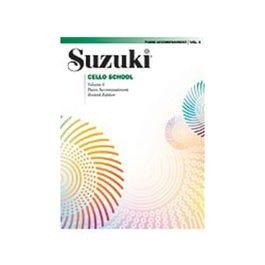 Image for Suzuki Cello School Piano Accompaniment Volume 6 from SamAsh