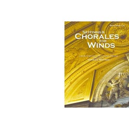 Wingert Jones Music Inc. 52 Hymns and Chorales for Winds -Baritone TC