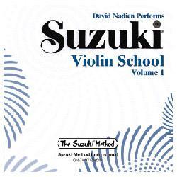 Image for Suzuki Violin School Volume 1 (CD) from SamAsh