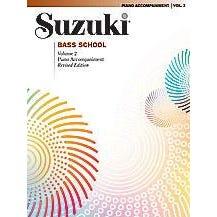 Alfred Suzuki Bass School Piano Acc., Volume 2 (Revised)